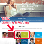 TOEIC公式テスト(一般受験)の申し込み方法